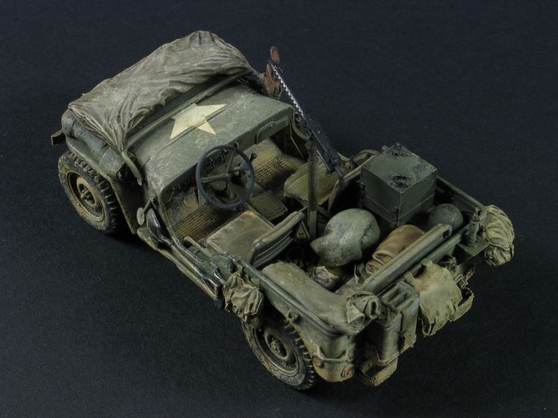 Jeep scale model